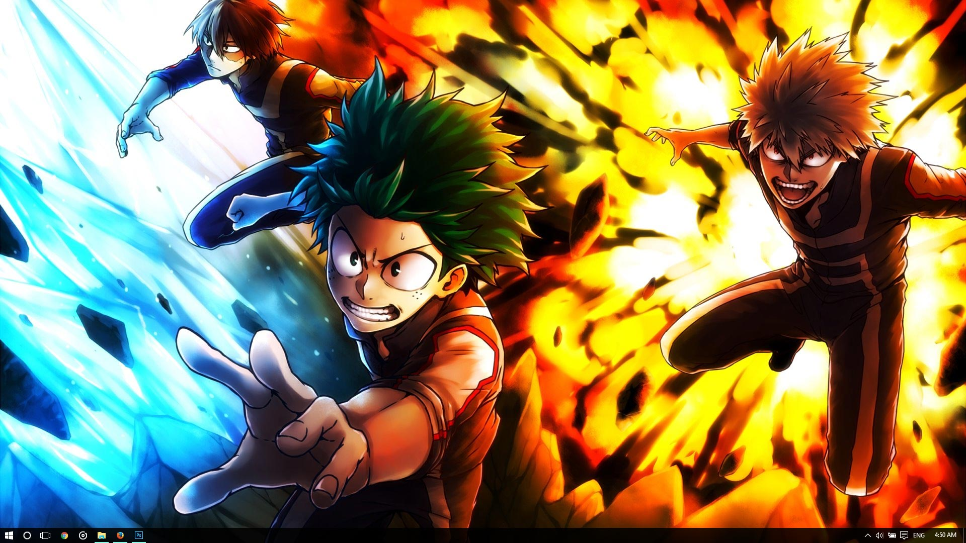 My Hero Academia Theme for Windows 10 8 7 1920x1080