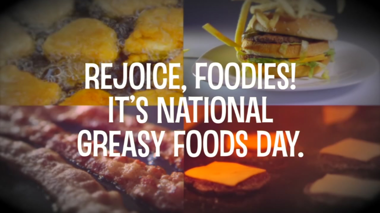Heres where you can celebrate National Greasy Food Day   ABC13 1600x900