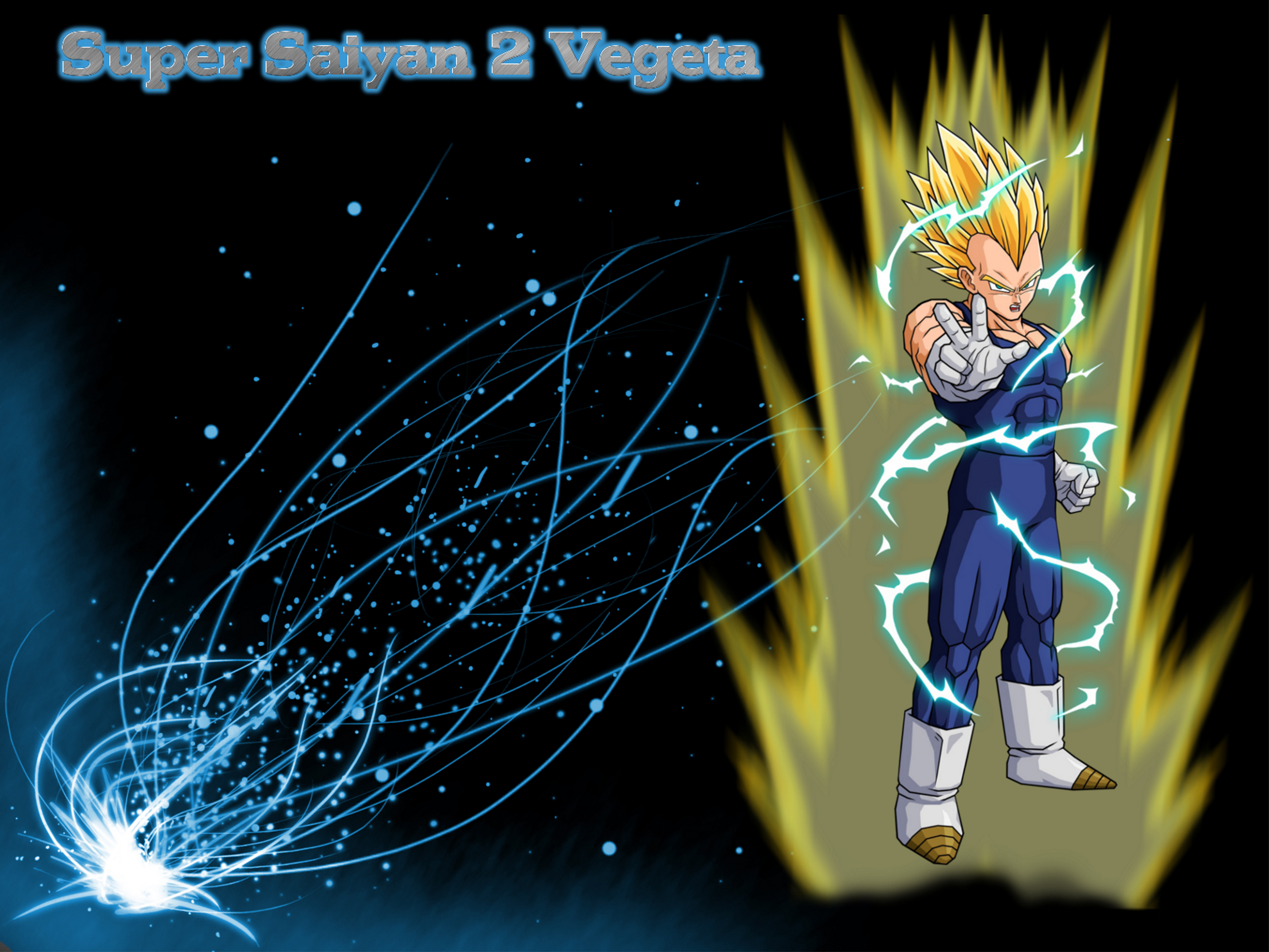 Super Saiyan 2 Vegeta Wallpaper 1 by bigtam211 5000x3750