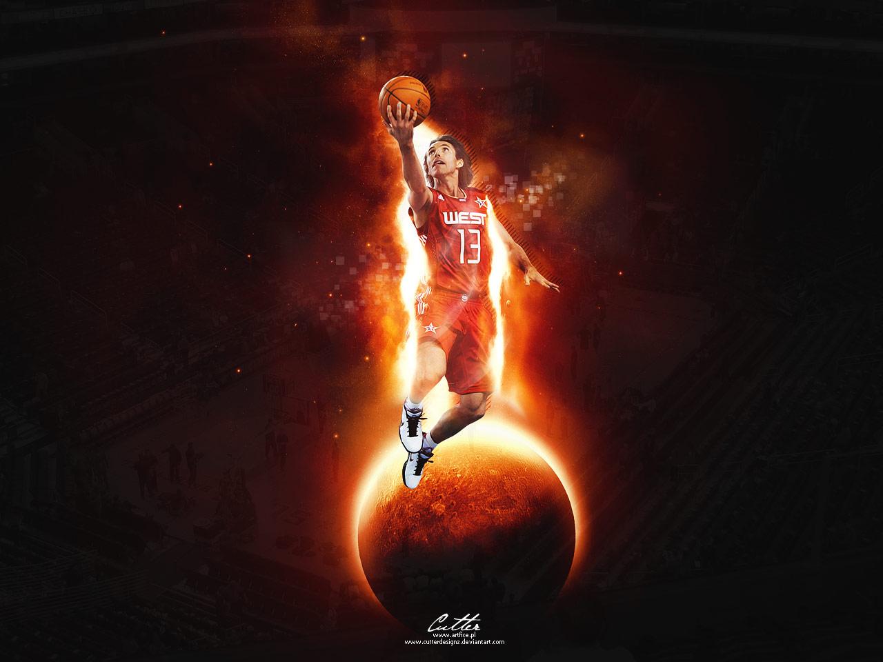 Steve Nash Wallpaper in the 2010 All Star Game NBA 1280x960