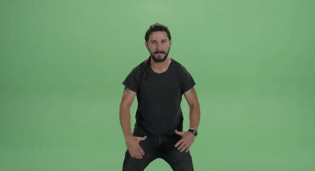 Shia LaBeoufs Hilarious Just Do It Motivational Video Jeered 637x346