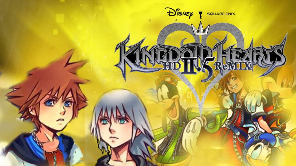 Kingdom Hearts 2 5 Wallpaper Kingdom Hearts hd 2 5 Remix 1024x576