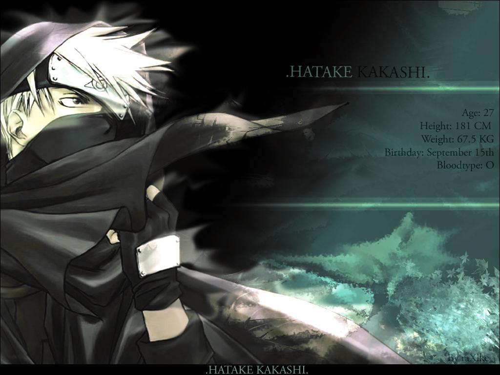 Hatake Kakashi Wallpaper v2 by raXike 1024x768