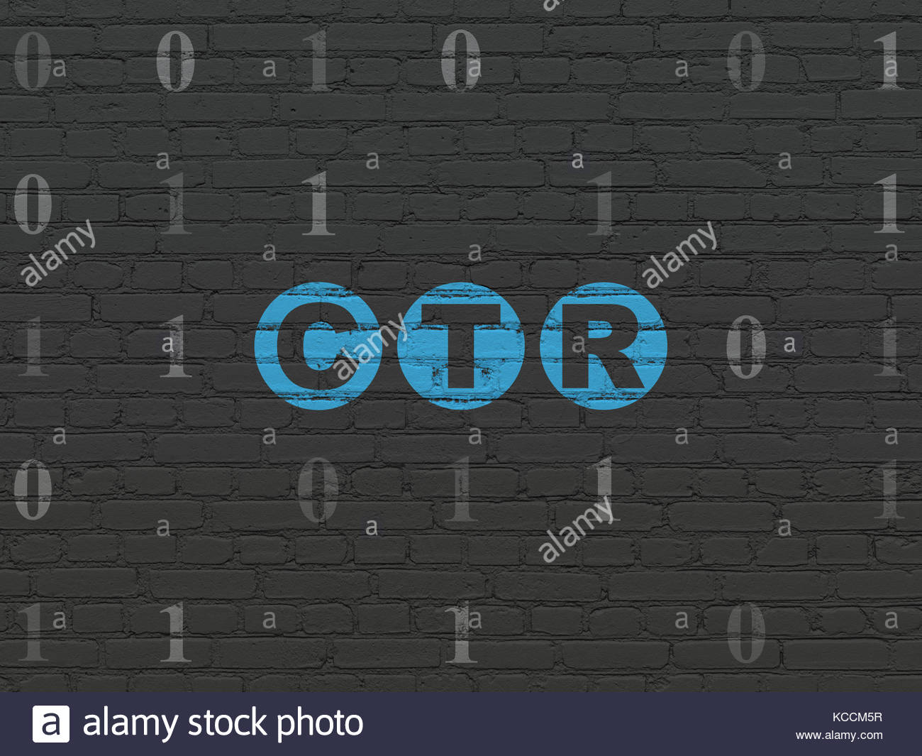 Finance concept CTR on wall background Stock Photo 162548451   Alamy 1300x1065