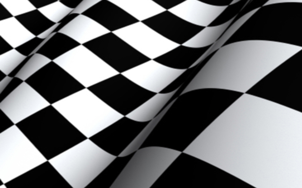 Checkered Flag Vape Skin for Tesla Two 1280x800