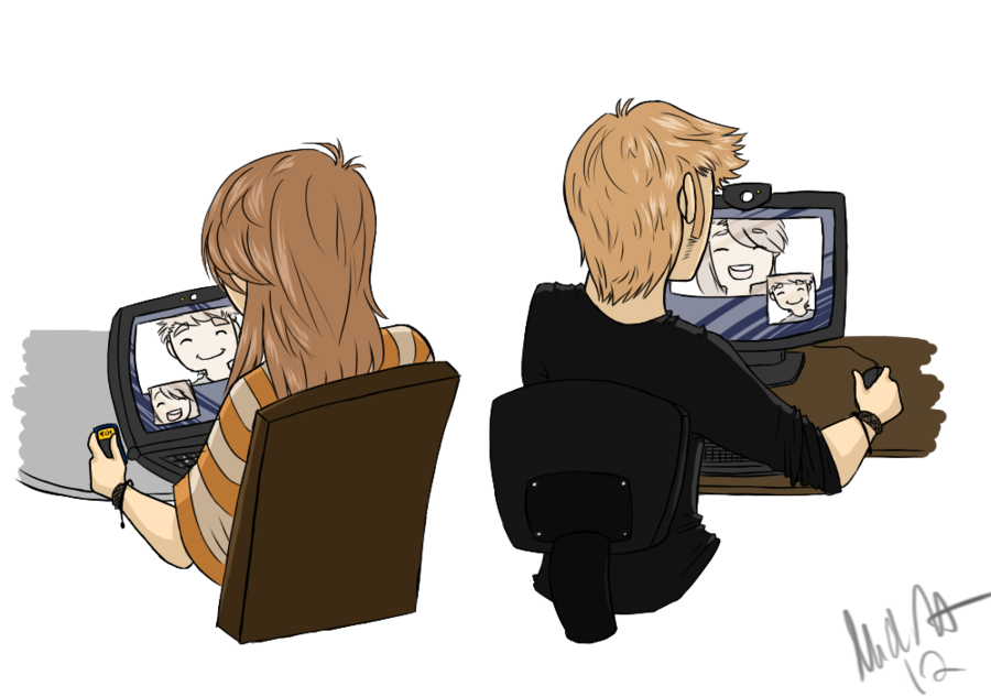 Cute Couple Drawings Distance Www Imagessure Com