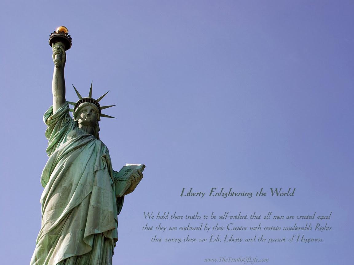 Statue of liberty wallpaper   beautiful desktop wallpapers 2014 1152x864