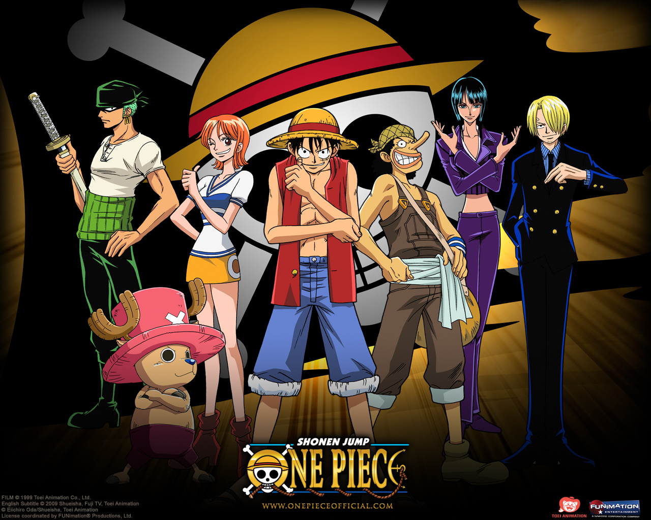Free Download One Piece All Characters Anime Wallpapers