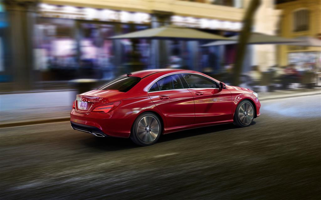 2017 Mercedes Benz CLA Class Wallpaper and Image Gallery 1024x640