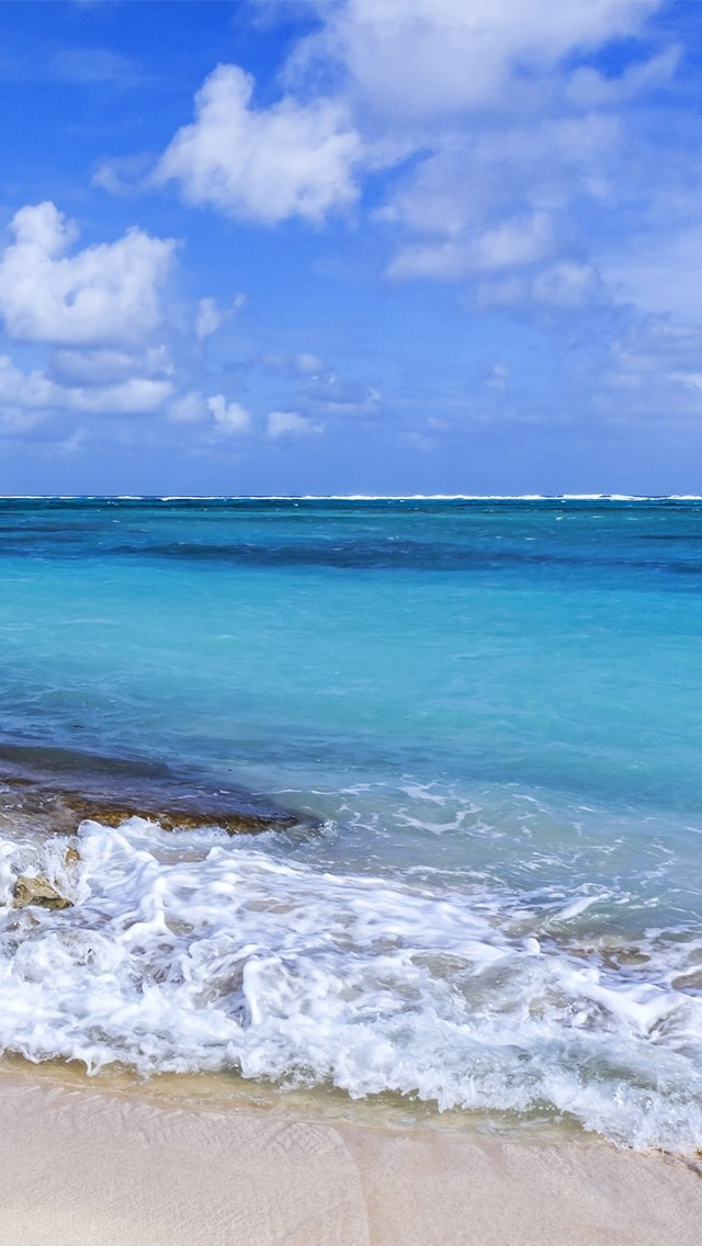 Calm Ocean Waves wallpaper iphone 5 iPhone Wallpapers iPhone Themes 640x1136