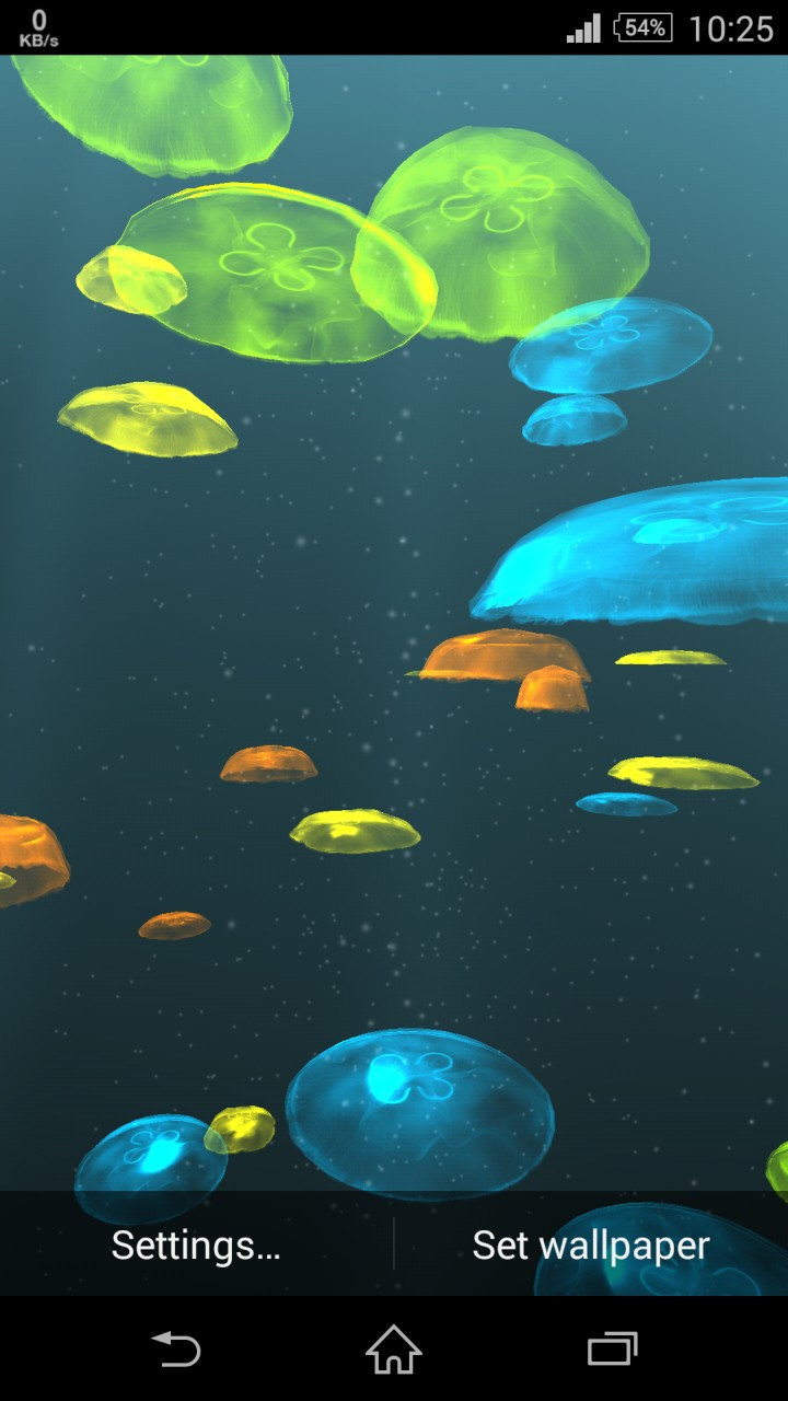 Jellyfish 3D Live Wallpaper for Android   TopAndroidWallpaperscom 720x1280