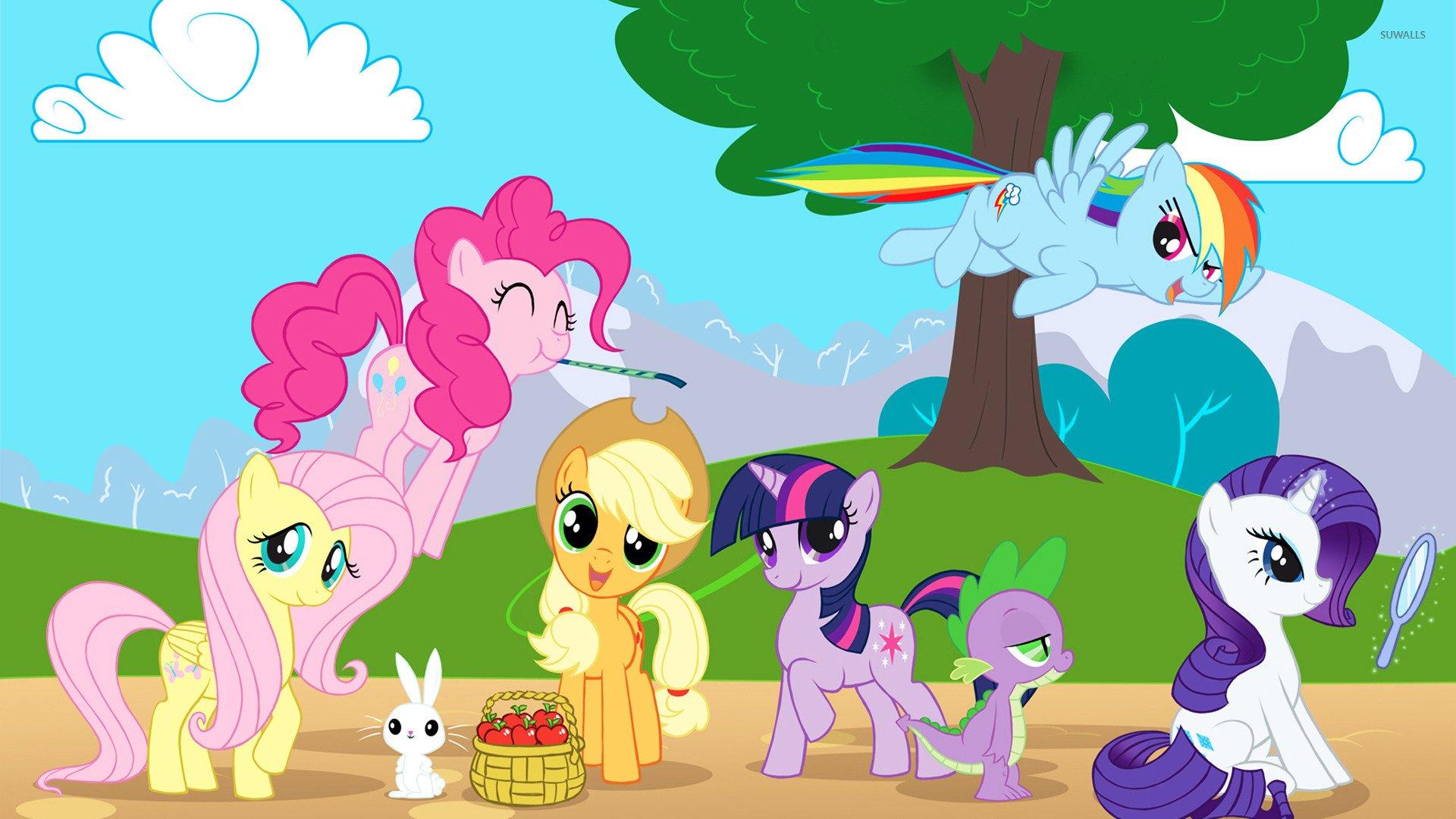 Free Download My Little Pony Friendship Is Magic Wallpaper Cartoon