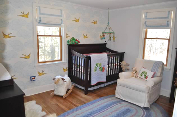 indesigning your baby boy nursery wallpaper quality discount