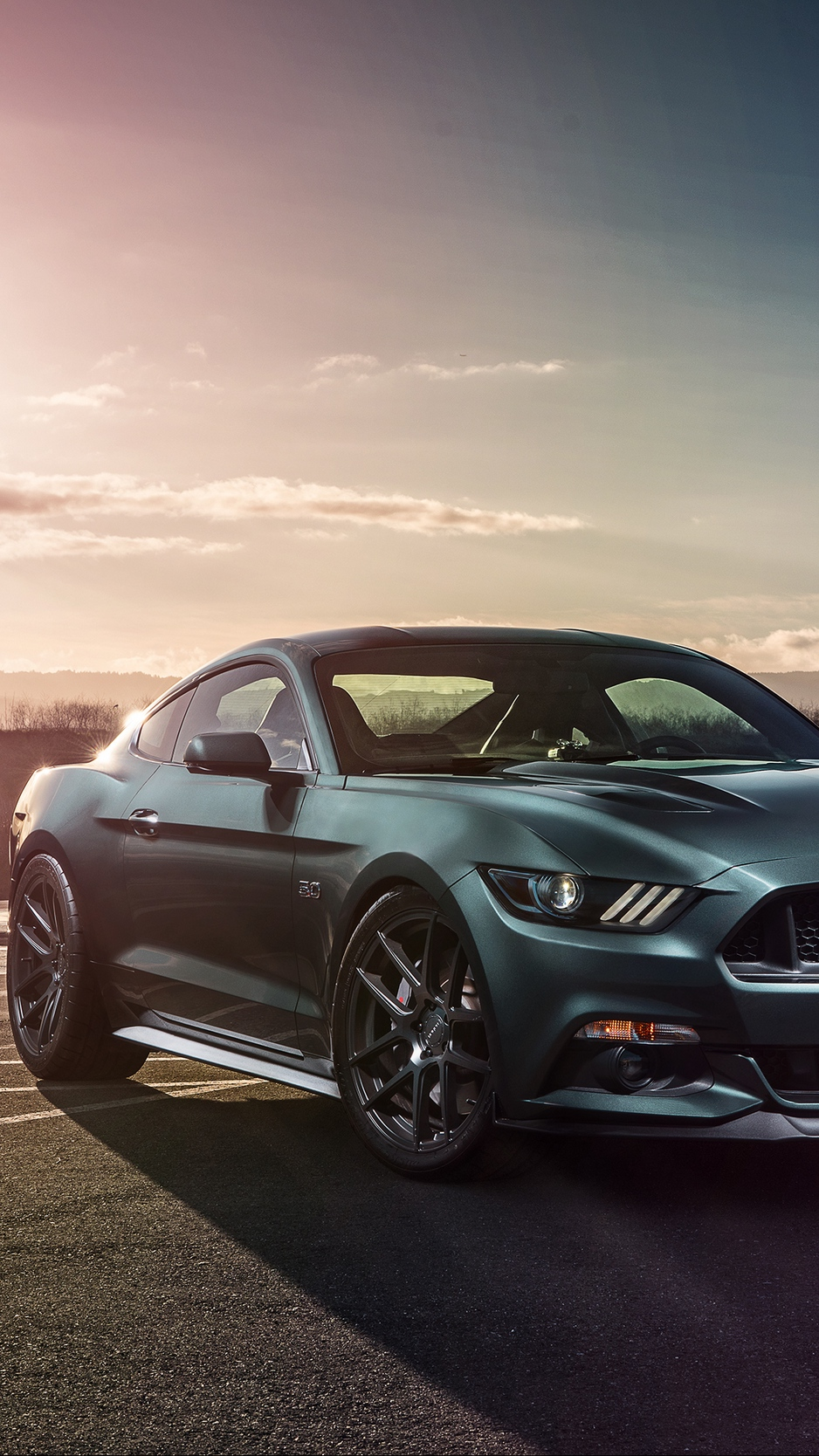 Wallpaper Ford Mustang Gt Ford Side View Sports   Ford Mustang 938x1668
