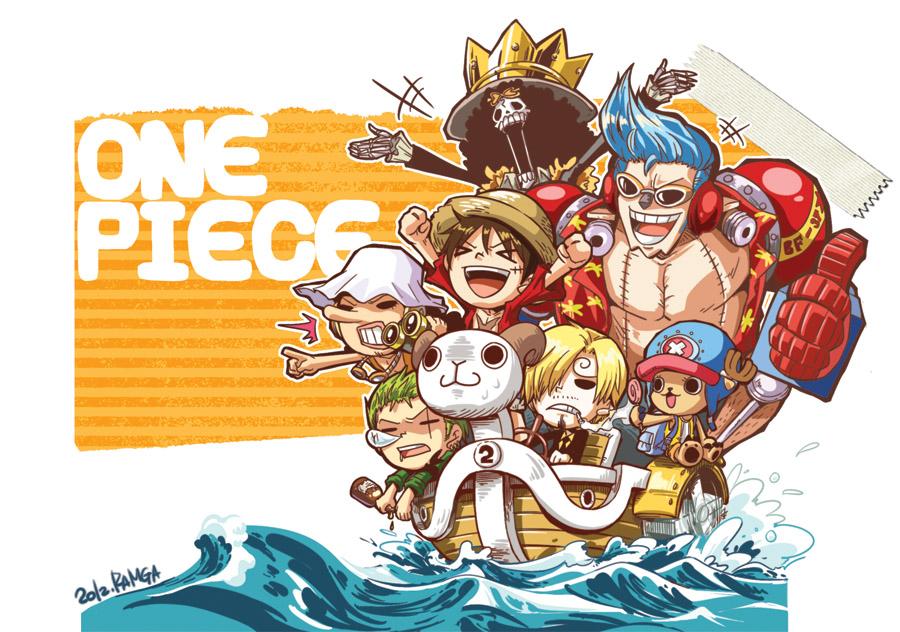One Piece Chibi Wallpaper - WallpaperSafari