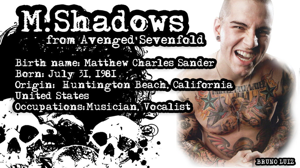 Shadows From Avenged Sevenfold Wallpaper by Brunoluizdepaula on 1024x574