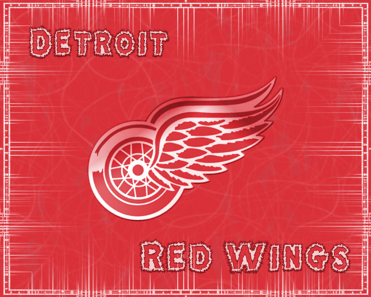 red wings wallpaper border - photo #31