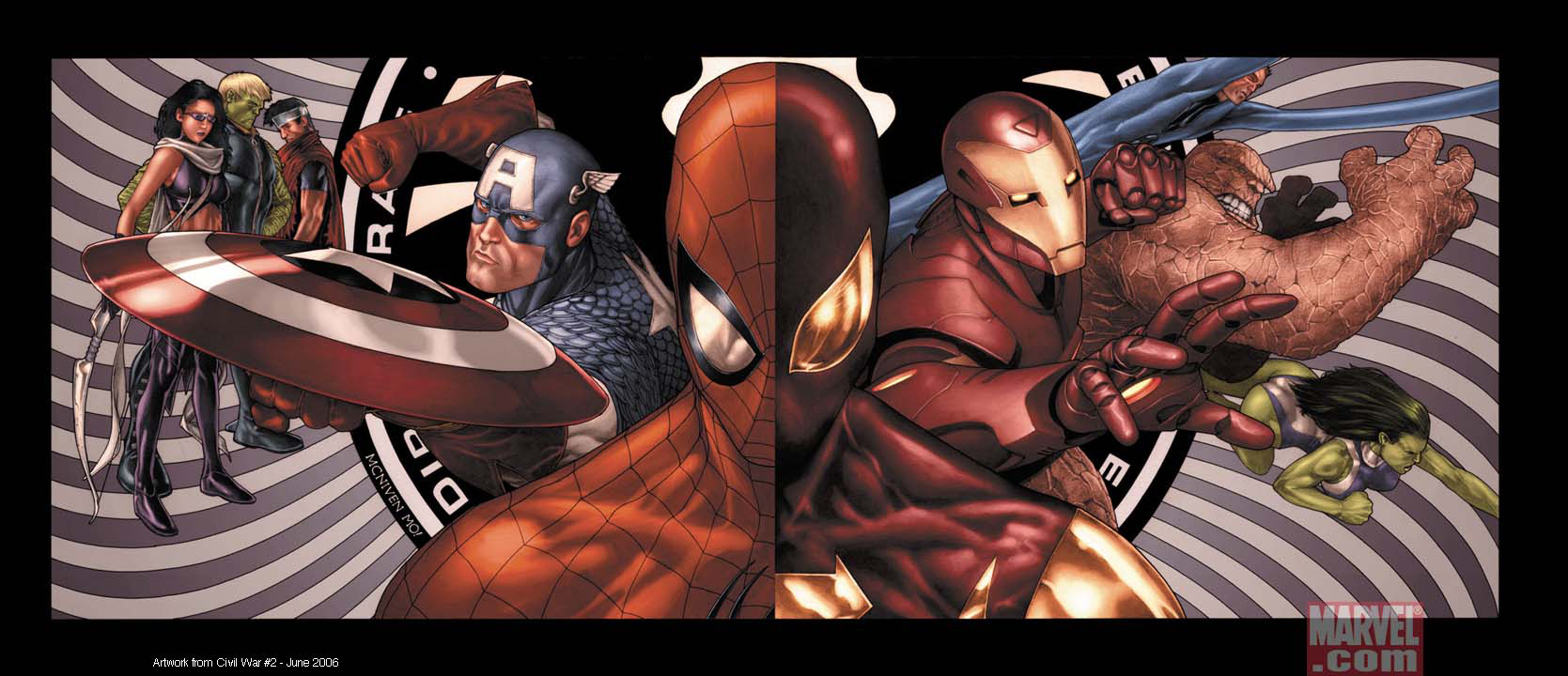 wallpapers amazing spider man carnage civil war new avengers my 1669x720