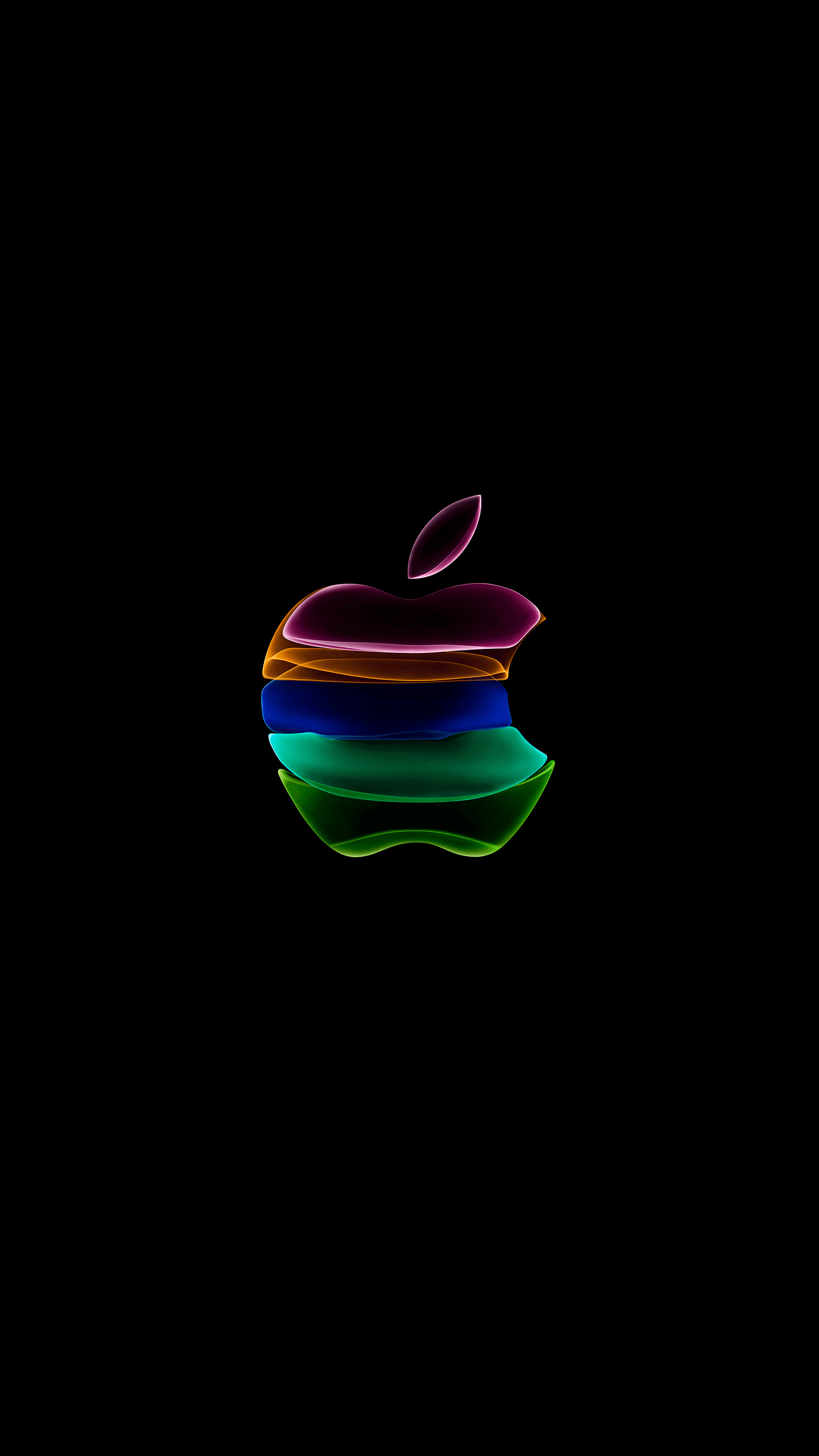 327293 iPhone 11 Apple Logo Black phone HD Wallpapers Images 2160x3840