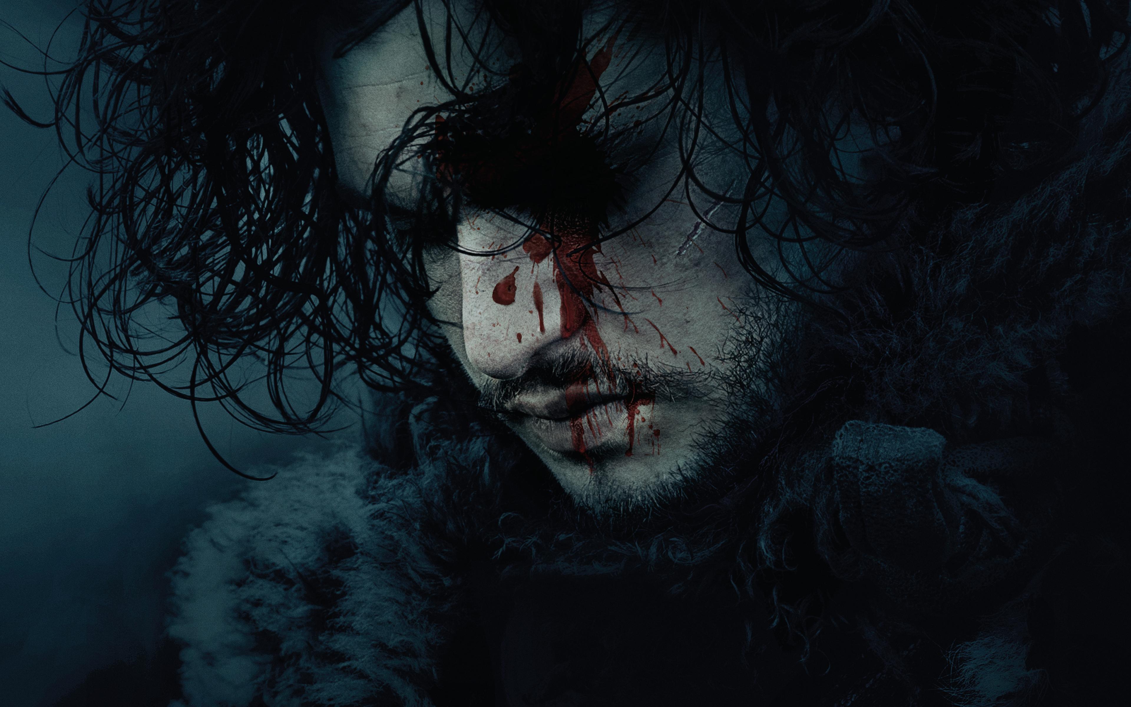 Kit Harington as Jon Snow in Game of Thrones 4K Wallpapers HD 3840x2400