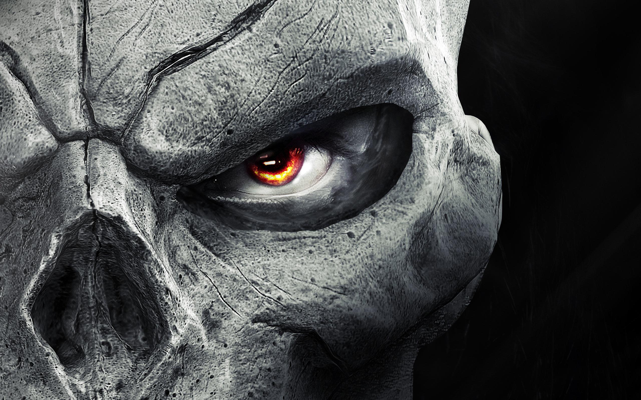 Darksiders Stone Skull HD Wallpapers 2560x1600