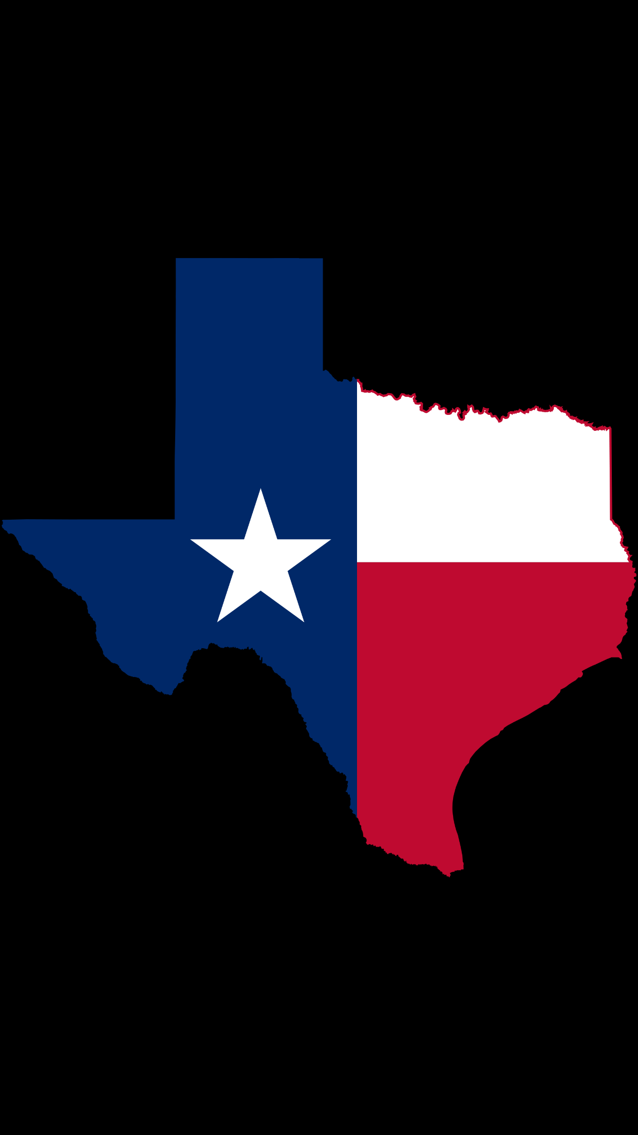 Apple iPhone 6Plus Texas Wallpaper Texas flags Tire cover 1242x2208