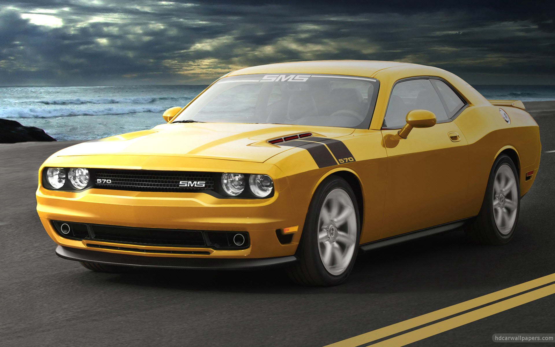 SMS Dodge Challenger Wallpaper HD Car Wallpapers 1920x1200