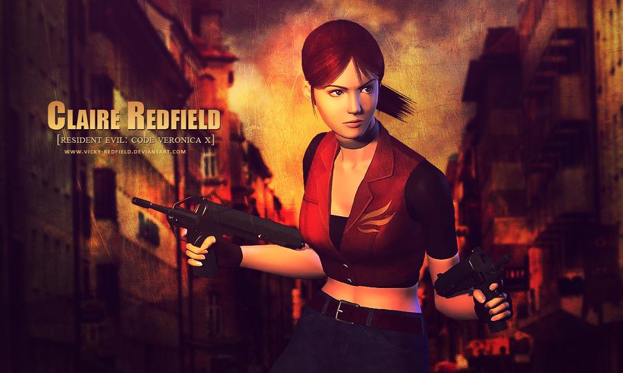 Claire Redfield RE CVX wallpaper by Queen Stormcloak 900x540