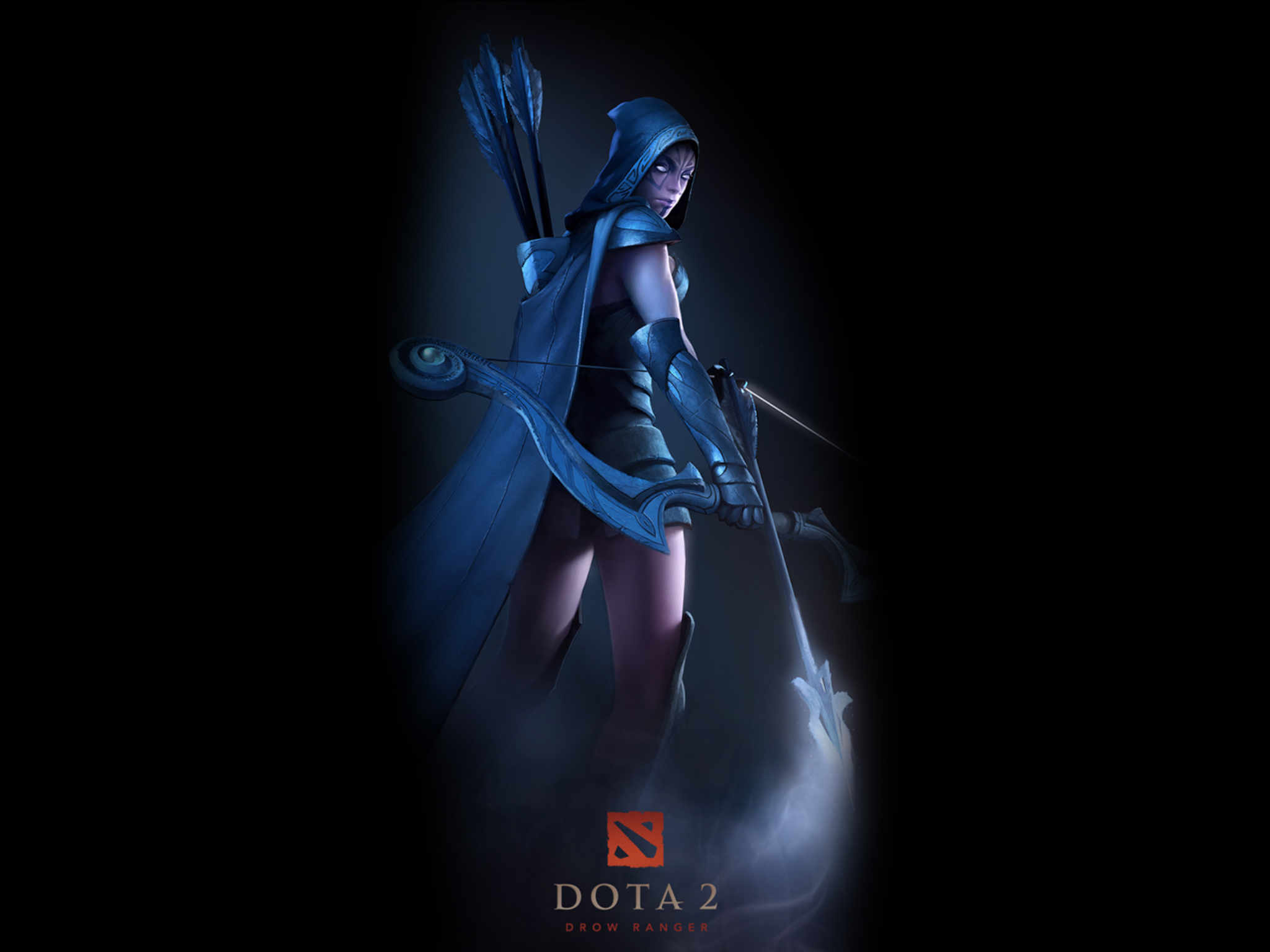 12 Drow Ranger DotA 2 HD Wallpapers Background Images 2048x1536