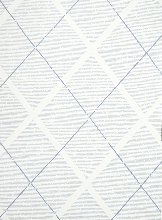 Trellis Wallpaper Blue and White diamond trellis childrens wallpaper 534x723
