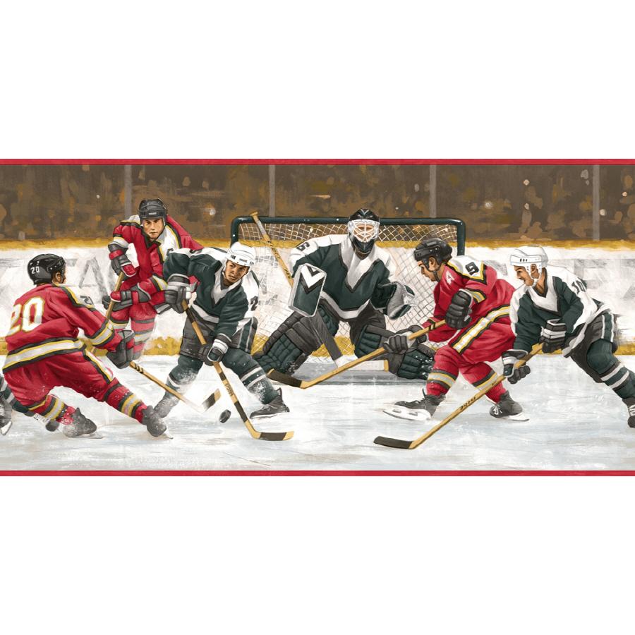 Hockey Wallpaper Border