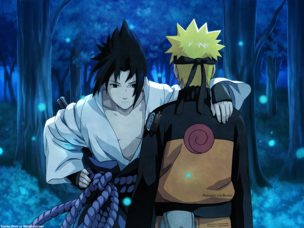 sasuke vs naruto   Sasuke vs naruto Wallpaper 5629845 1024x768