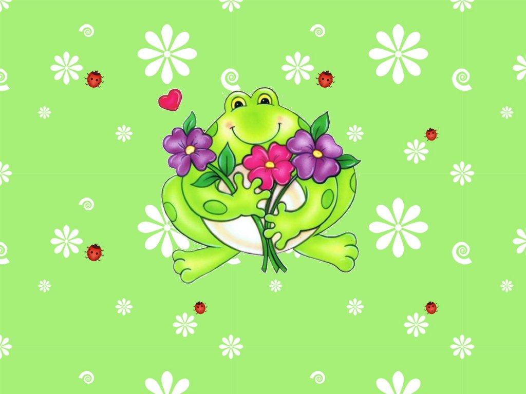 Cute frog wallpaper   ForWallpapercom 1024x768