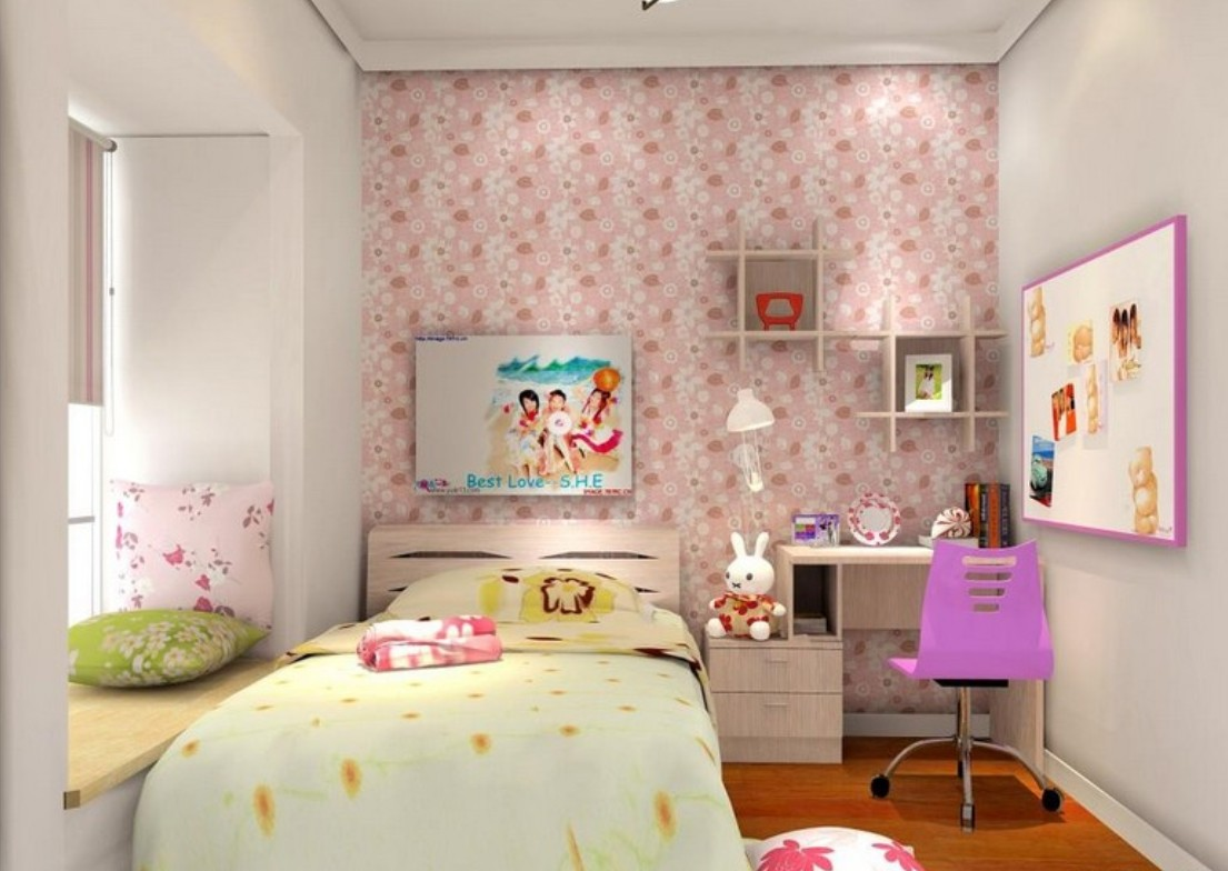 Download 3d wallpaper girl room wallpaper 3d decoration of girl room ...