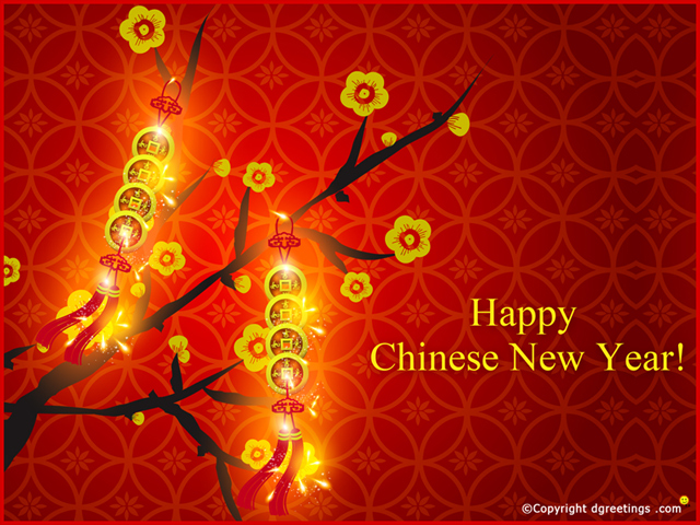 Chinese New Year wallpaper 640x480