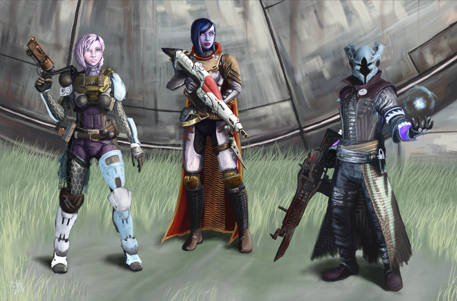 Destiny TTK Contest   The Incredibles by Daveastation 1600x1054