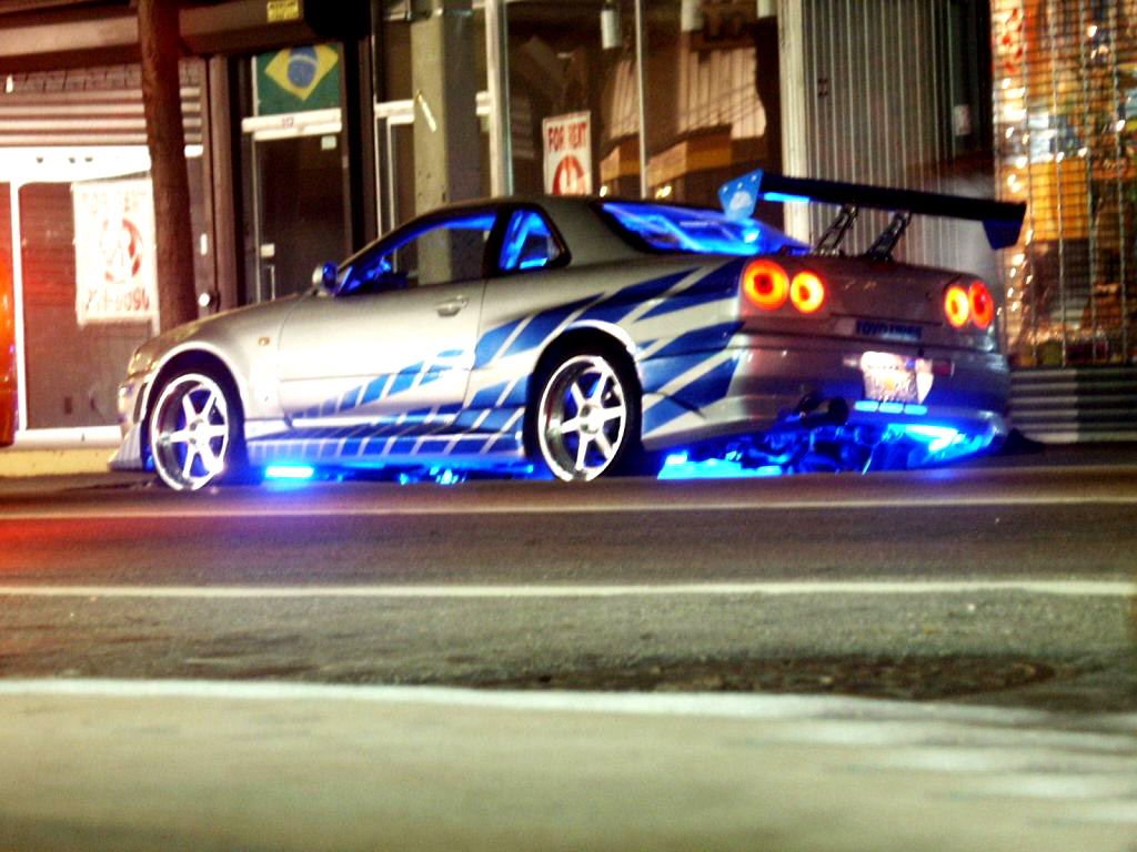 Fast 2 Furious Desktop Wallpapers for HD Widescreen and 1024x768