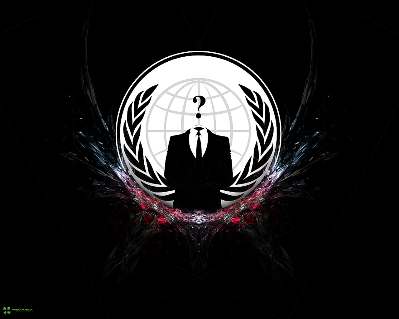 Anonymous Computer Hackers 1280x1024