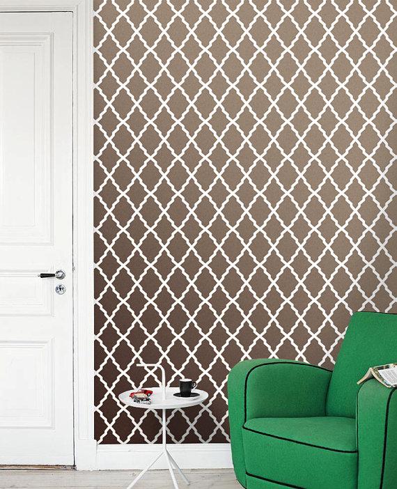 Removable self adhesive vinyl Wallpaper wall sticker   wallpaper 570x702