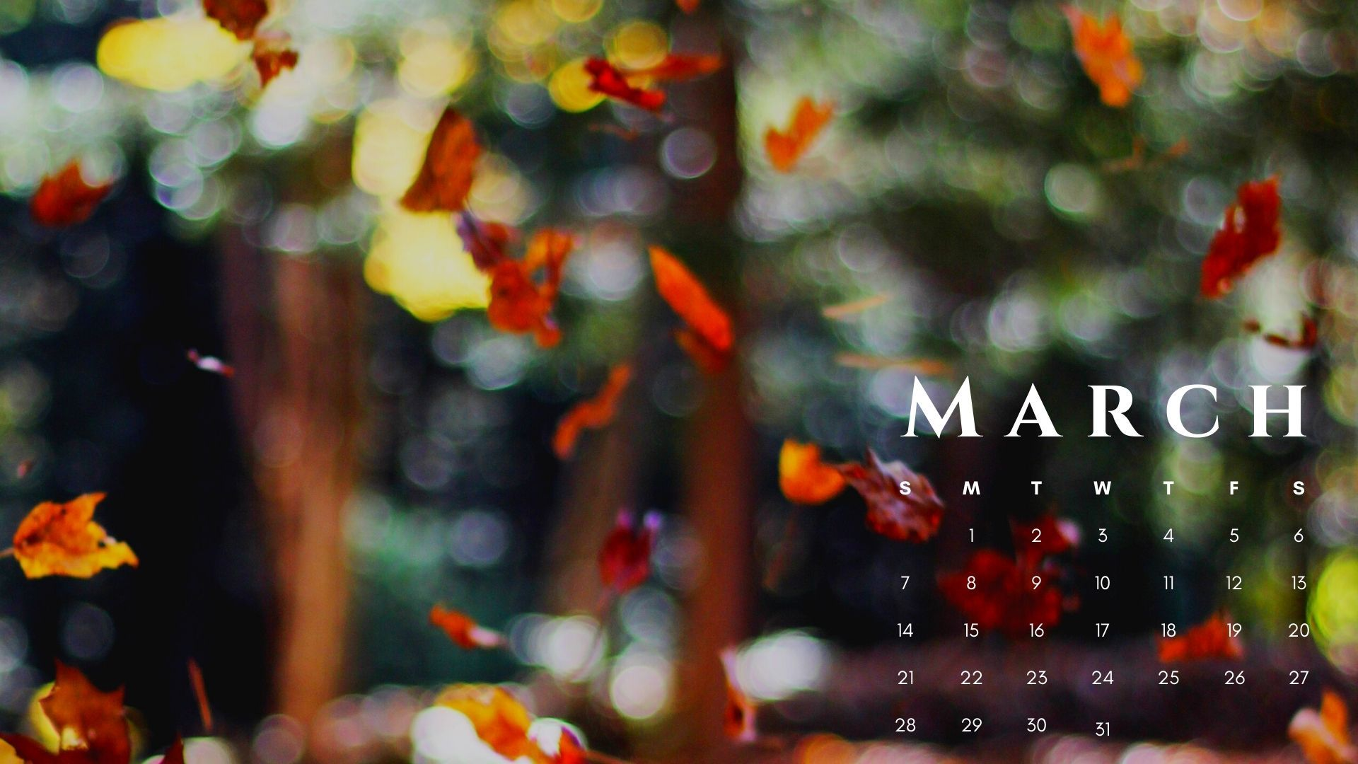 March 2021 Calendar Nature HD Wallpaper Calendar wallpaper