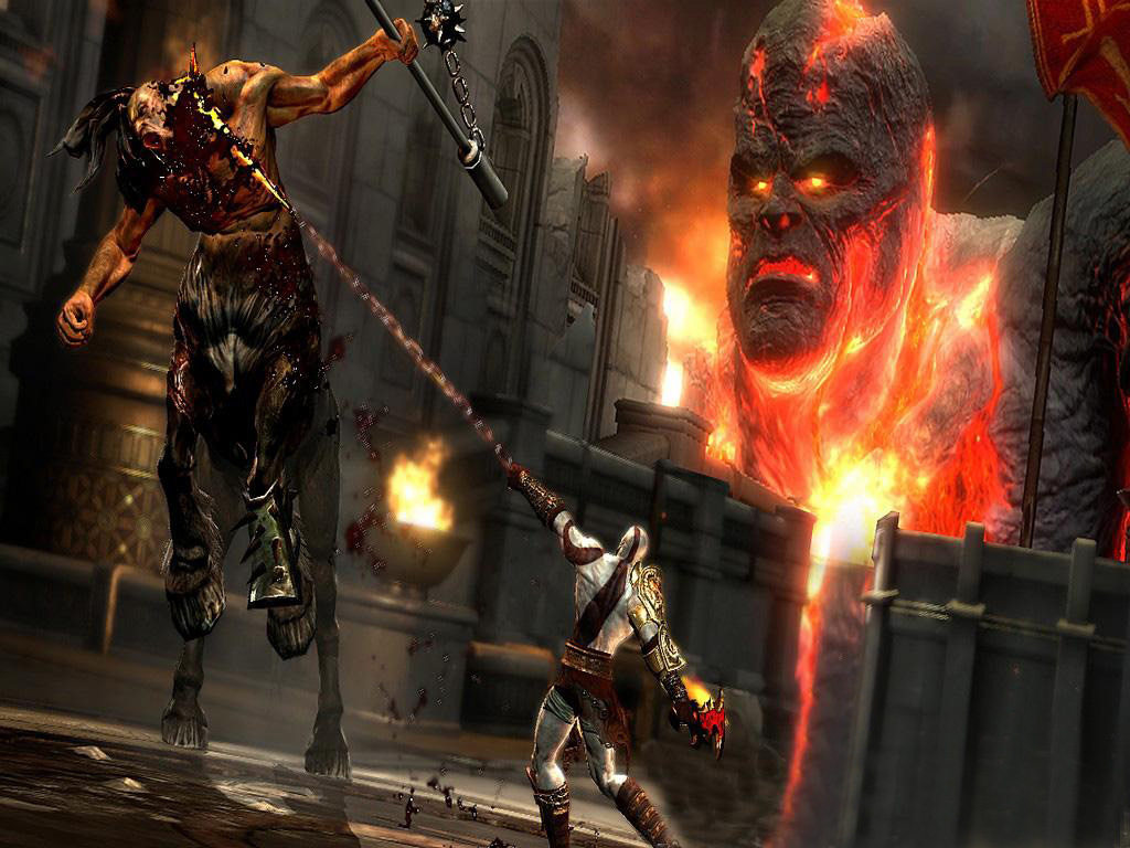 God of War HD wallpapers collection for your desktop 1024x768