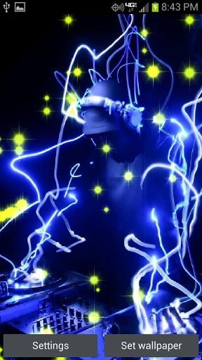Free Download Download Neon Dj Beats Live Wallpaper For