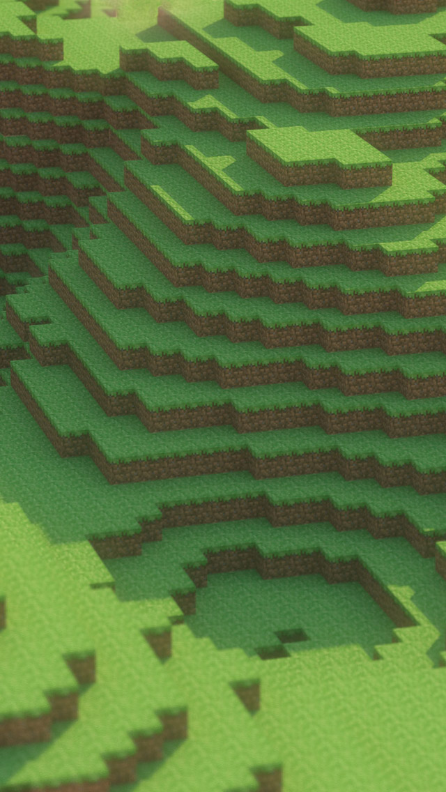 Wallpapers Comments Off on 24 Minecraft Wallpapers for iPhone 5 640x1136