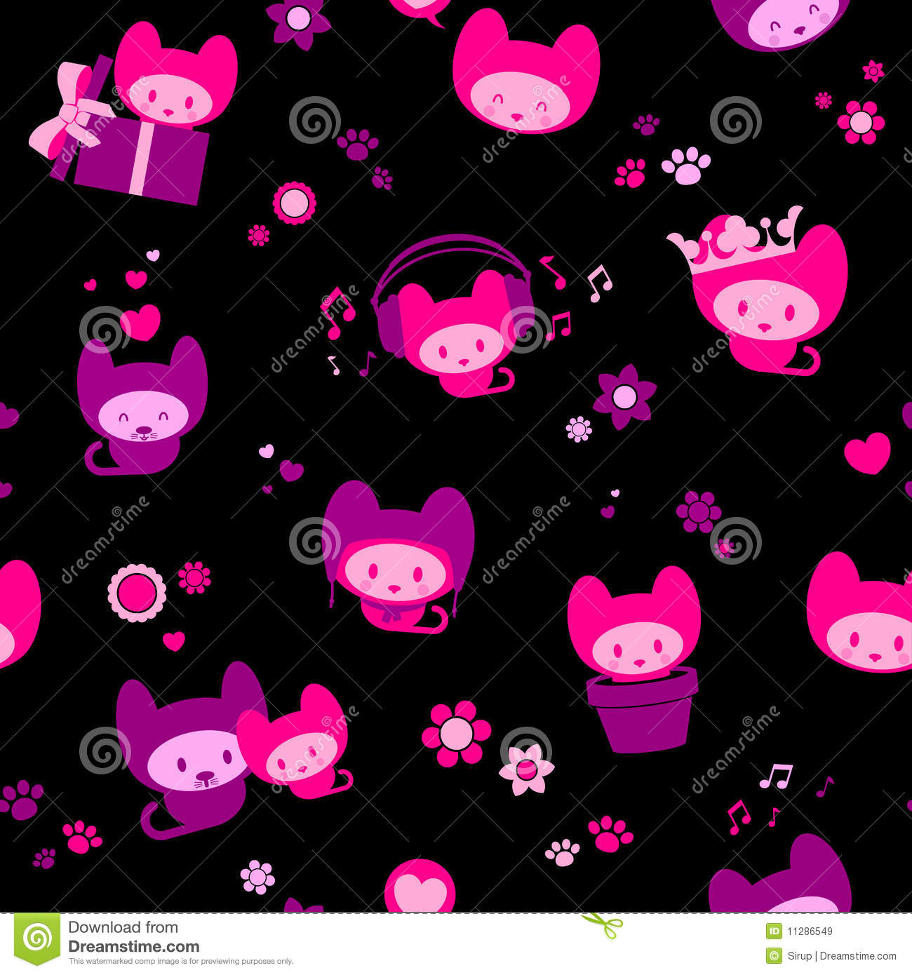 home wallpaper cute black - photo #21