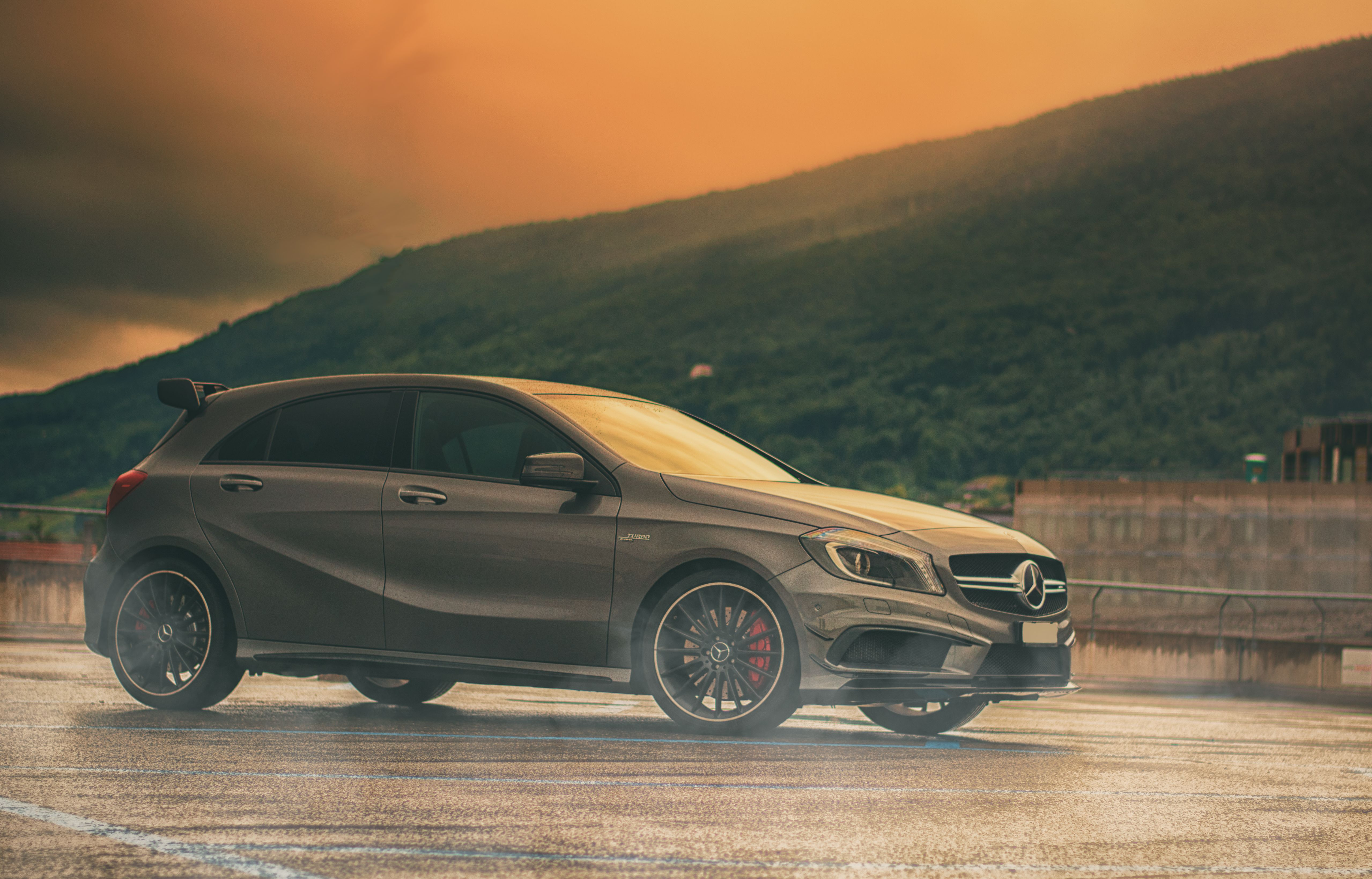 1 Mercedes A 45 AMG HD Wallpapers Hintergrnde 5117x3277