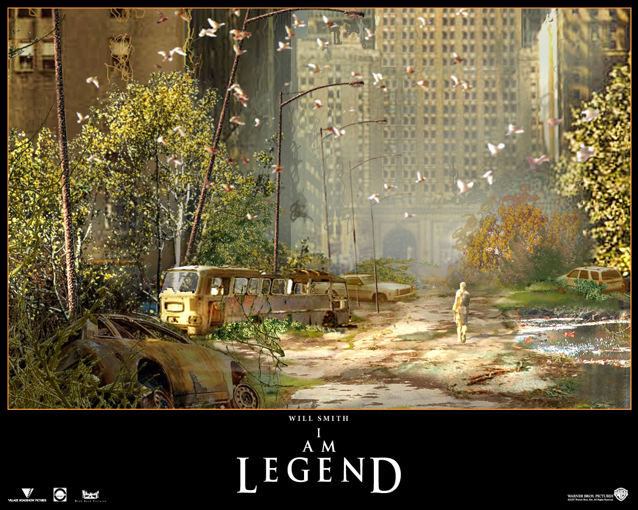 Am Legend Wallpapers Decrepid I Am Legend HD Wallpapers 1280x1024