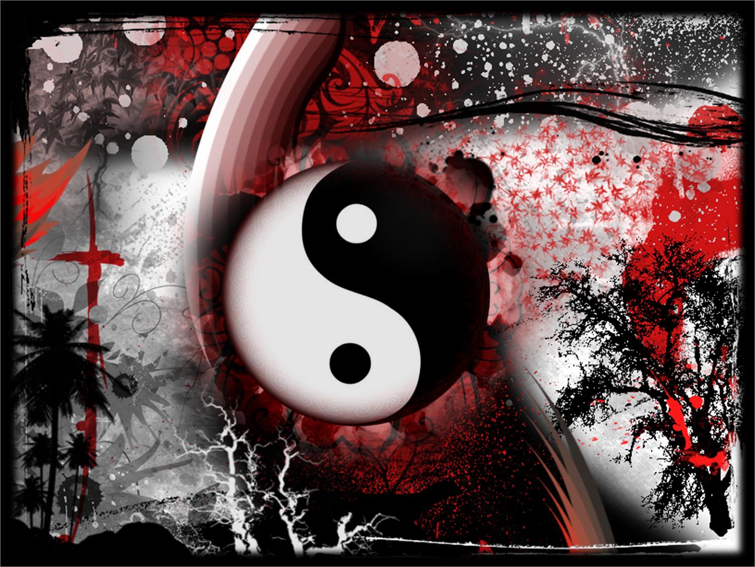 Black Red White Wallpaper by DeafbutforMusicpng 1506x1131