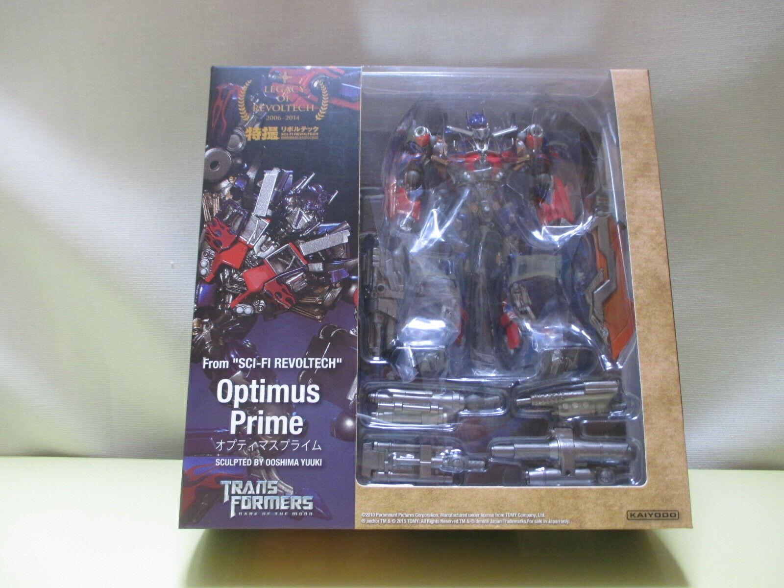 Kaiyodo Legacy of Revoltech Lr 049 Transformers Optimus Prime 1600x1200