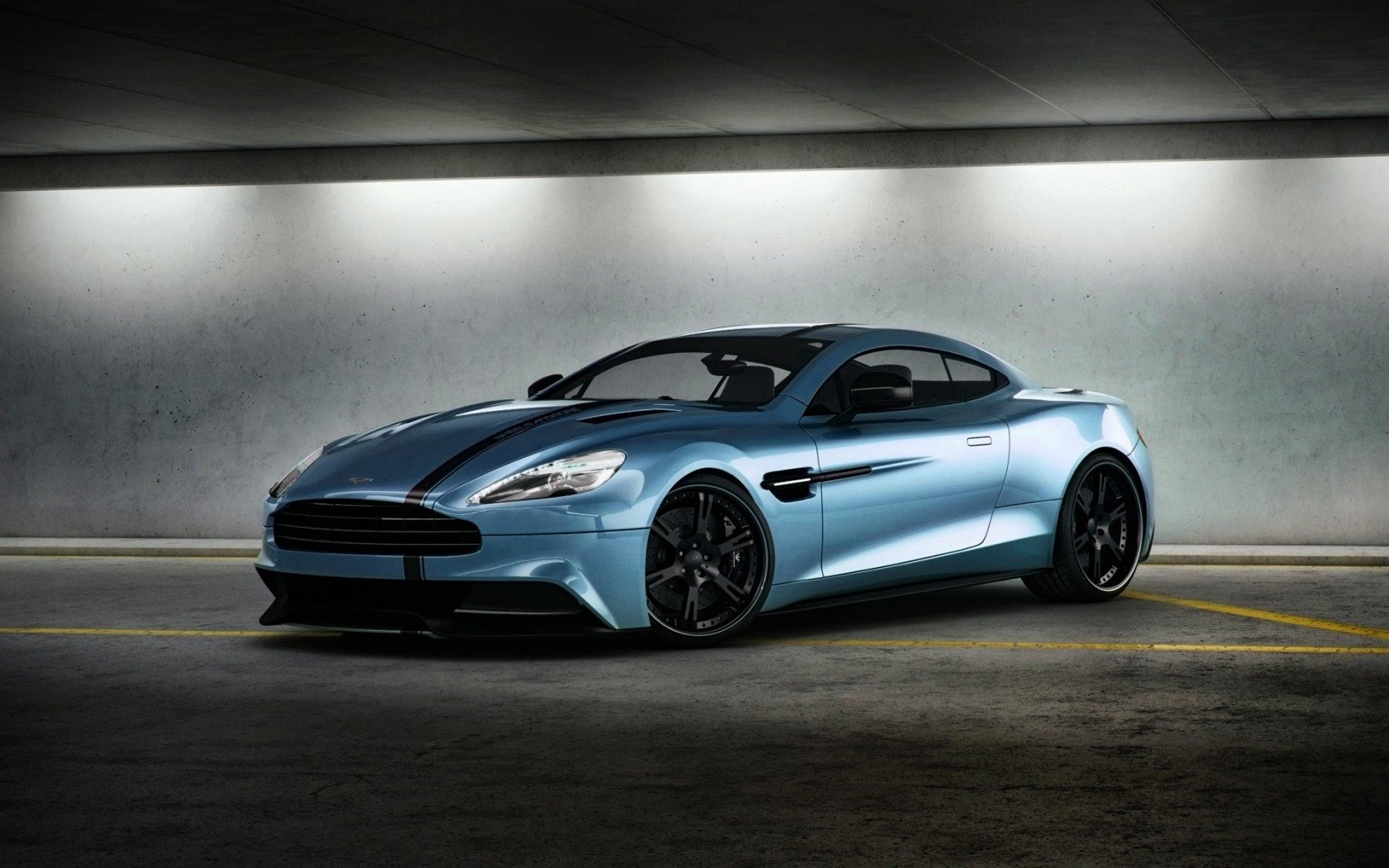 Aston Martin Vanquish Wallpaper and Background Image 1680x1050 1680x1050