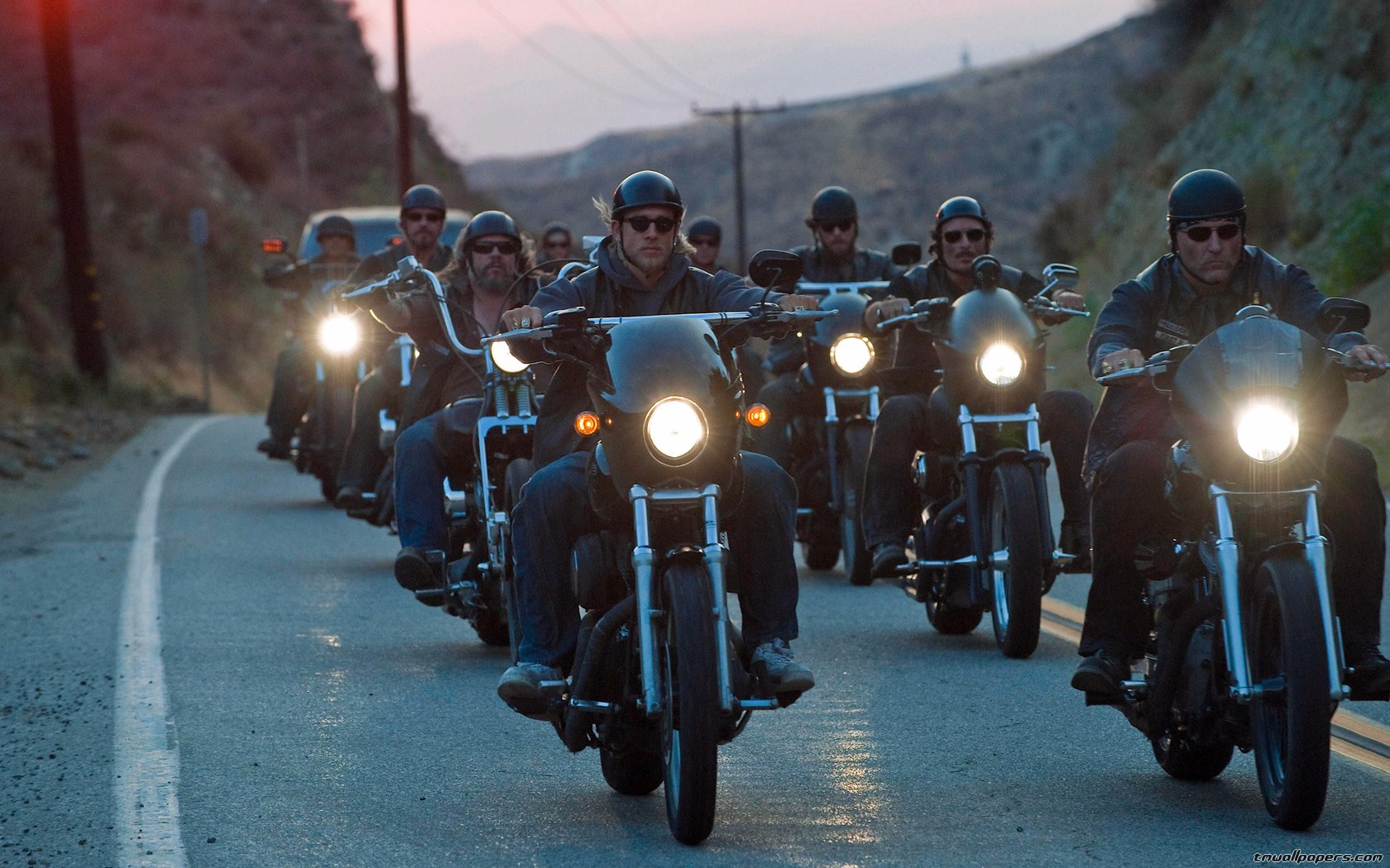 an examination of the use of logos ethos and pathos in sons of anarchy an american television show